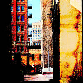 Alley Abstract by Anita Burgermeister