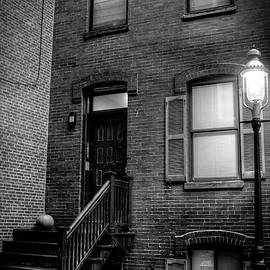 Alleyway In Boston - North End by Joann Vitali