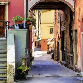 Alleyway in Monterosso al Mare, Cinque Terre by Dominic Piperata