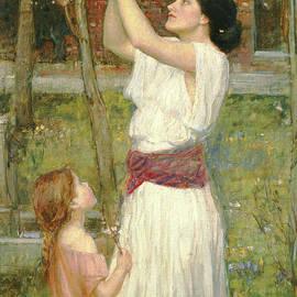 John William Waterhouse - Almond Blossoms