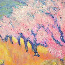 Jane Gatward - Almond Trees In Bloom