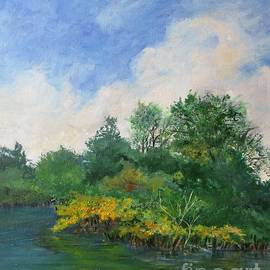 Along the Alafia River by Barbara Moak