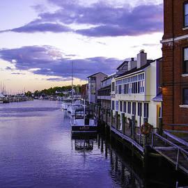 Along The Mystic Waterfront by Joe Geraci