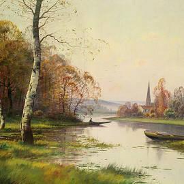 Eugene Galien-Laloue - Along the river