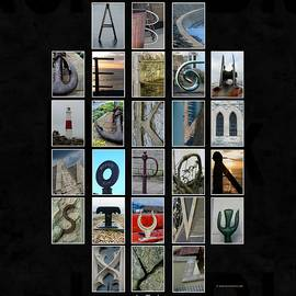 Alphabet Illusion. Www.atozillusions.com  by David Matthews