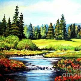 Hazel Holland - Alpine Meadow