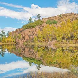 Bijan Pirnia - Alpine Vale Reflection