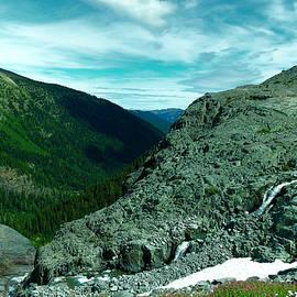 Jeff Swan - Alpine waterfall