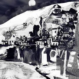 Amalfi Love Under the Moon by Zsanan Studio