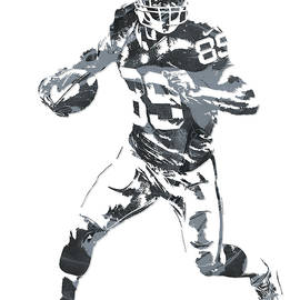 Amari Cooper OAKLAND RAIDERS PIXEL ART 10 - Joe Hamilton