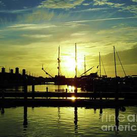 Amazing St Augustine Sunrise by D Hackett