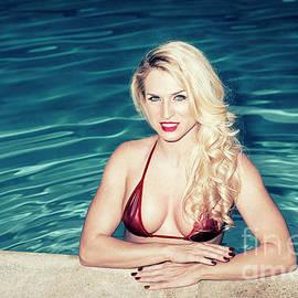 Amyn Nasser - American Blonde Beauty 9152