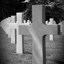 American Cemetery Remember D Day June 6 1944 by Lucinda Walter