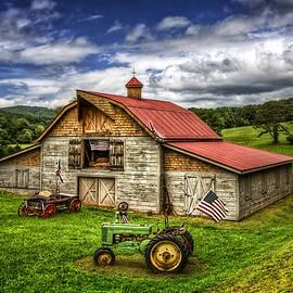 American Country Barn by Debra and Dave Vanderlaan