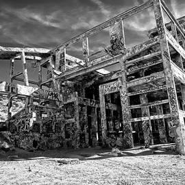 American Flat Mill Virginia City Nevada by Scott McGuire