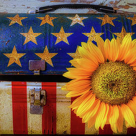 American Lunchbox With Sunflower - Garry Gay