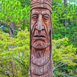 Native American Totem by DBHayes