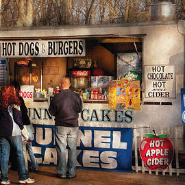 Mike Savad - Americana - Food - Hot dogs and Funnel cakes