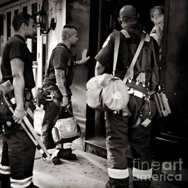 Miriam Danar - Americas Bravest - N Y C  Firefighters on the Job