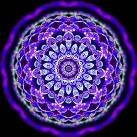 Ammersee Cropcircle Lightmandala Morph by Robert Thalmeier