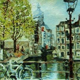 Amsterdam, City of Canals and Bikes by Helen Sviderskis
