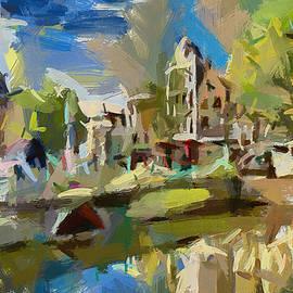 Sergey Lukashin - Amsterdam - the city on water