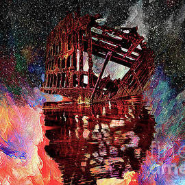Kay Brewer - An Abstracted Peter Iredale