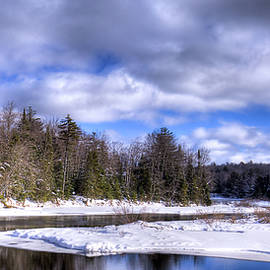 David Patterson - An Adirondack Snowscape