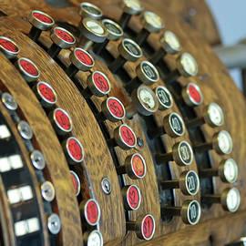 Derrick Neill - An Antique Crank-Operated Cash Register, or Till