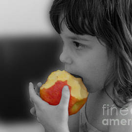 An apple a day by Mafalda Cento