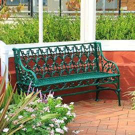 An Inviting Bench by Karen Silvestri