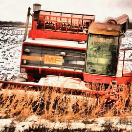 An old harvestor by Jeff Swan