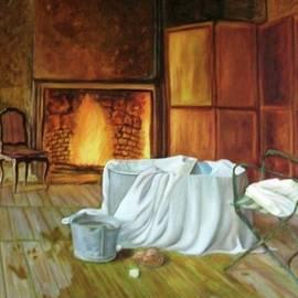 Rachel Wollach Asherovitz - An Old Jacuzzi