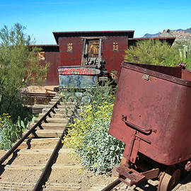 An Old Mine at Goldfield Ghost Town, Arizona  by Derrick Neill
