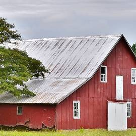 An Old Red Barn by Kim Bemis