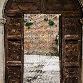 An Old Wooden Door 2 by Andrea Mazzocchetti