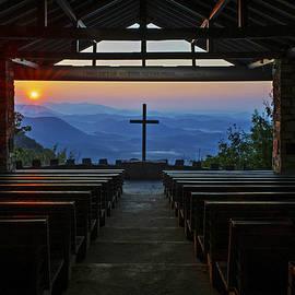 Willie Harper - An Outdoor Mountain Chapel   Symmes Chapel aka Pretty Place  Greenville SC