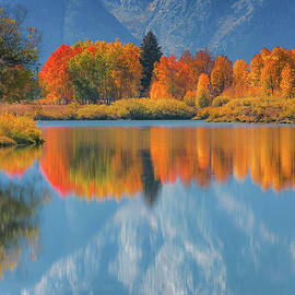 An Oxbow Bend Reflection by Luis A Ramirez