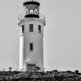 Anacapa Lighthouse California by David Millenheft