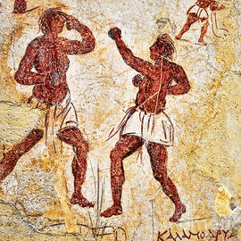 Brenda Kean - Ancient Greek Graffitti of Boxers