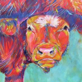 Calf and Udders  by Karin McCombe Jones
