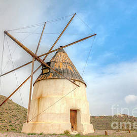 Andalusian Windmill by Heiko Koehrer-Wagner