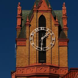Anderson County Courthouse Clock by Rusty Gentry