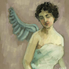 Carrie Joy Byrnes - Angel - Study