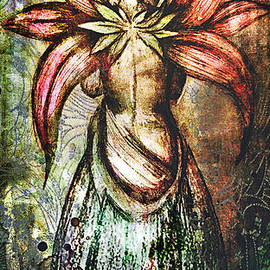 Michael Volpicelli - Angel with flowery wings