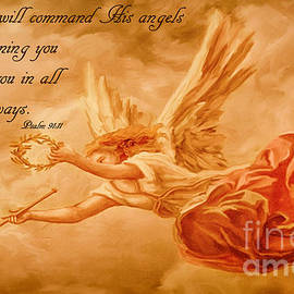 Angels On Guard by Priscilla Burgers