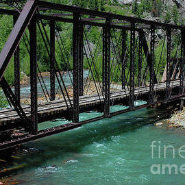 Kathy Carlson - Animas River Train Trestle
