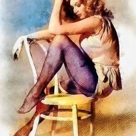 Anita Ekberg, Vintage Hollywood Actress - John Springfield