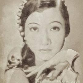 Ann may Wong, Vintage Actress by John Springfield - John Springfield