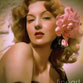 Ann Savage, Vintage Movie Star - John Springfield